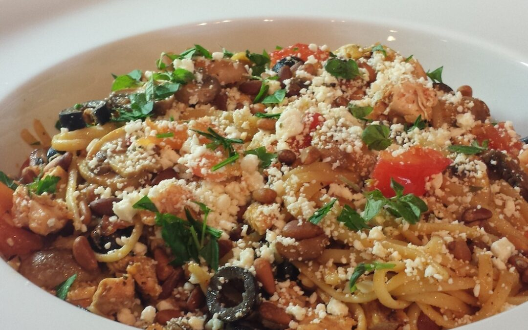 MEDITERRANEAN CHICKEN LINGUINE