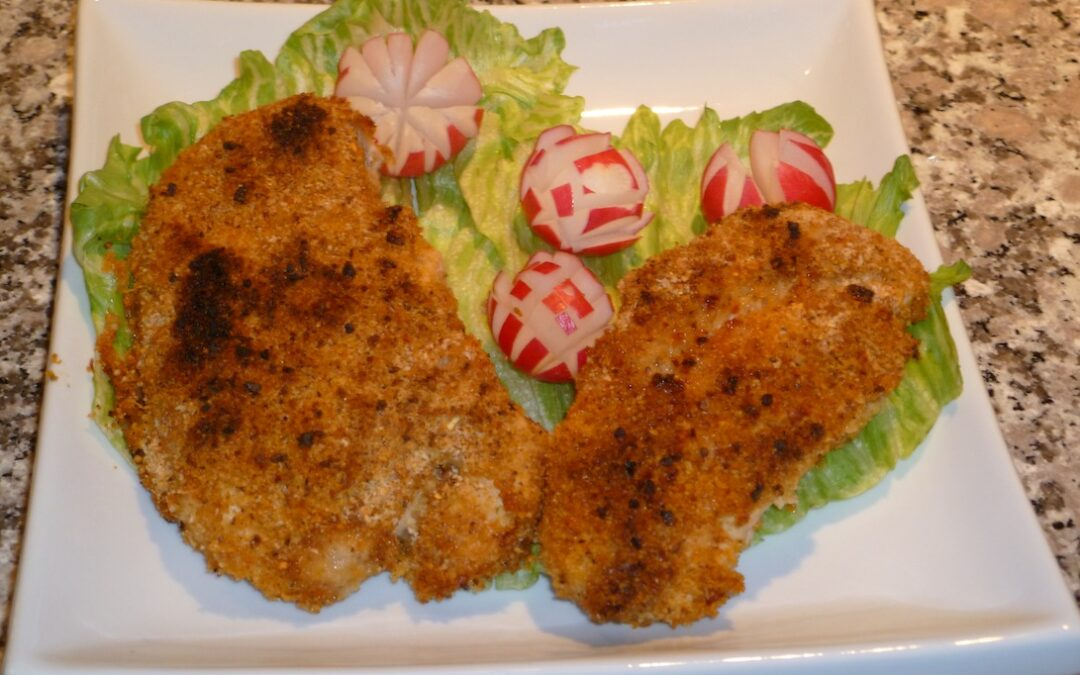 BAKED BREADED CHICKEN