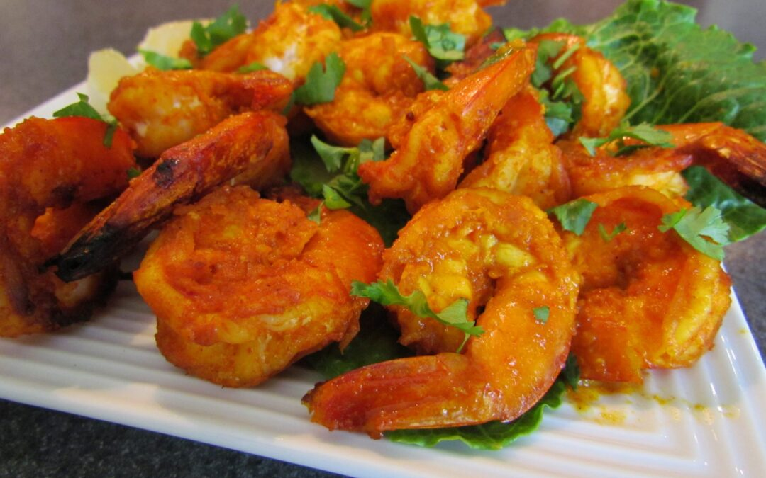 TANDOORI SHRIMPS
